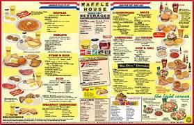 Waffle-house-menu  Waffle Menu