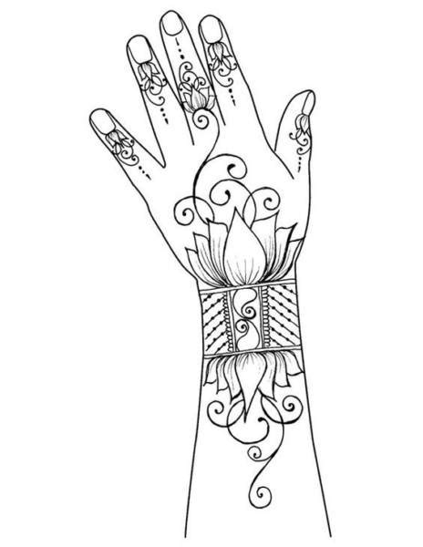 classy mehndi designs  hands step  step craft community