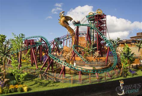 Busch Gardens Shares Details About Cobra's Curse Roller