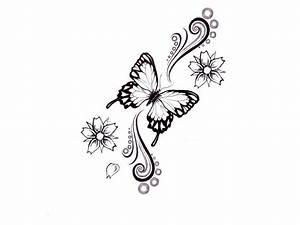 Butterfly Tattoo Sketches - Tukang Kritik