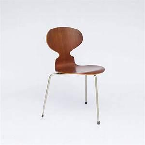 Arne Jacobsen Ant Chair : 1952 arne jacobsen original early set ant chairs for sale at 1stdibs ~ Markanthonyermac.com Haus und Dekorationen
