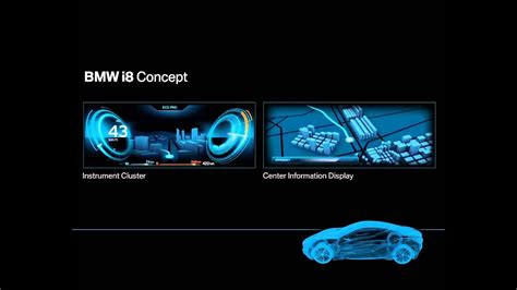 bmw  concept interior technology youtube