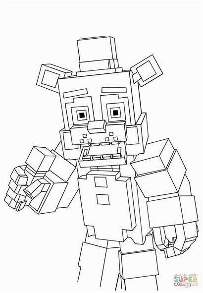 Coloring Pages Minecraft Printable Getcolorings Colorings Mi