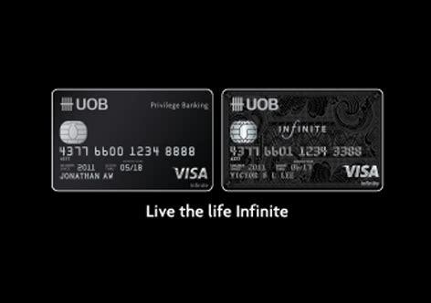 visa infinite card  premium credit cards uob malaysia