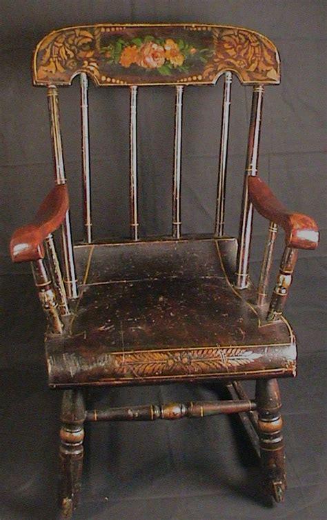 vintage banana rocking chair w1003 2l jpg 45