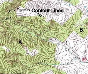 Topographic Maps with Contour Lines