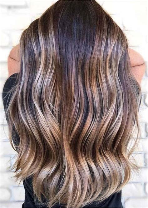 Obsessed Brunette Balayage Long Hairstyles for Women in