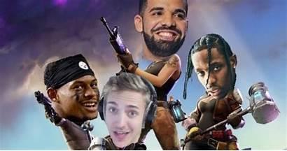 Fortnite Ninja Drake Twitch Streamer Rapper Wallpapers