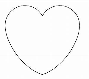 Heart Shape to Color Coloring