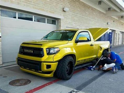 widebody truck toyota tundra wide body and slammed trucks pinterest
