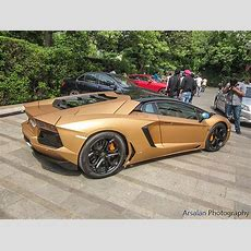 Matte Gold Lamborghini Aventador Flickr Photo Sharing