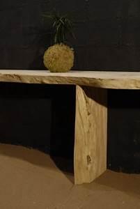 Planche De Bois Flotté : console en planche de bois flott ~ Melissatoandfro.com Idées de Décoration