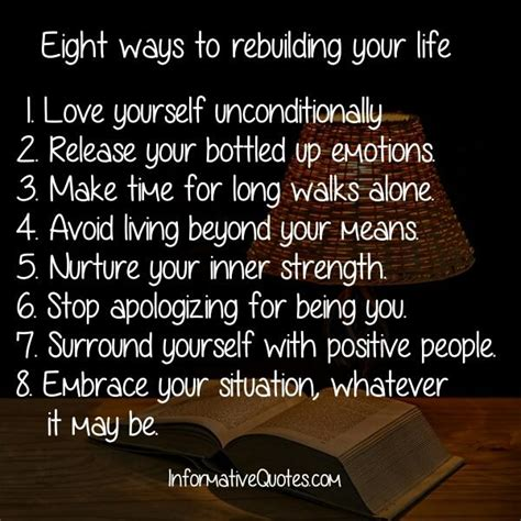 Rebuilding Yourself Quotes