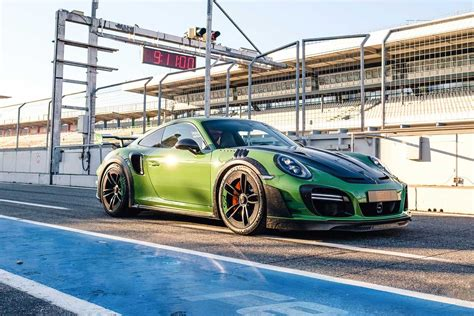 Techart Gtstreet Rs Tweaks The Porsche 911 Turbo S For The