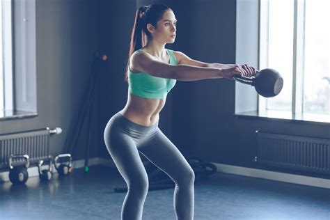 kettlebell exercises training perfect cross weight form cardio fitness workout vs lose strength buttocks avoid yourself body master proper working