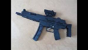 Lego  Shell Ejecting Mp5  Working