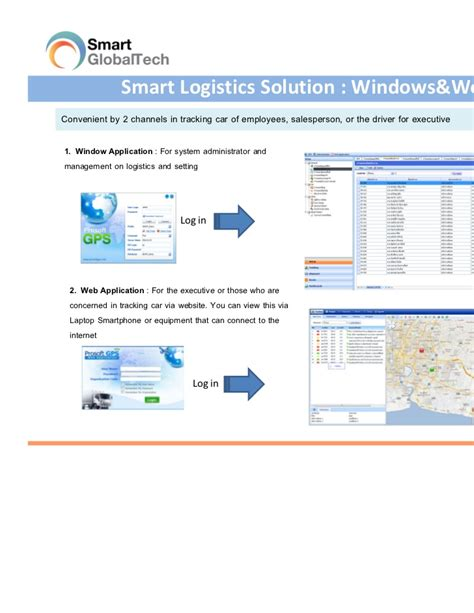 Smart Logistics And Gps Tracking System