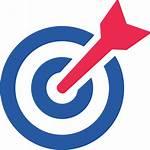 Objective Icon Career Bullseye Vectorified