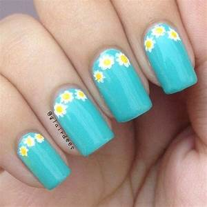 Summer nail art  simple easy nails