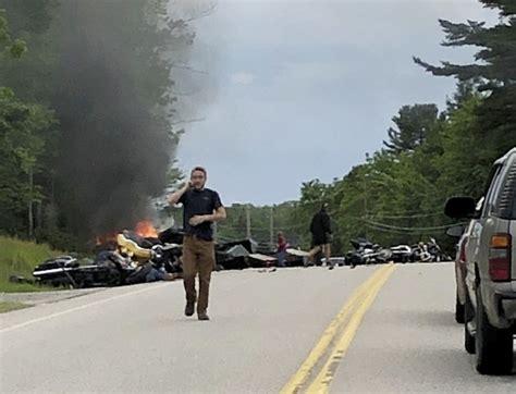 Bikers, Military Vets Mourn 7 Killed In Rural Highway Crash