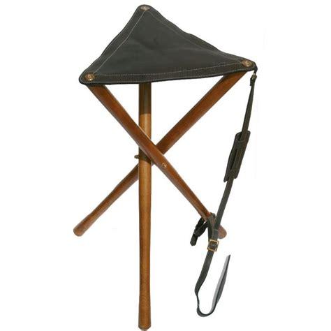 canne siege decathlon siège pliable bois et cuir haut de gamme pour battue peche