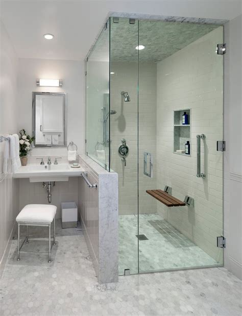 Bathroom Fixtures Los Angeles by Amazing Showers With Benches Decorating Ideas Bathroom