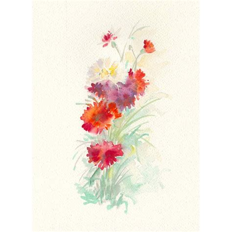 fiori garofano decoro fiore garofano per album fotografico