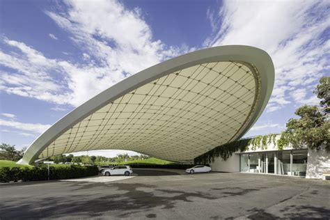 vw autostadt roof  service pavilion wolfsburg
