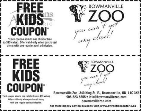 80720 Coupon Zoo Granby by Free Coupons For Granby Zoo Occidental Grand Papagayo Deals