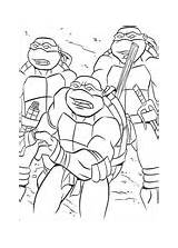 Tmnt Coloring Splinter Teachs Pages Printable Version sketch template