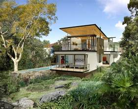 inspiring sloping site home designs photo cost of building on a sloping block