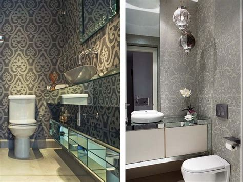 wonderful waterproof wallpaper  bathrooms room decore