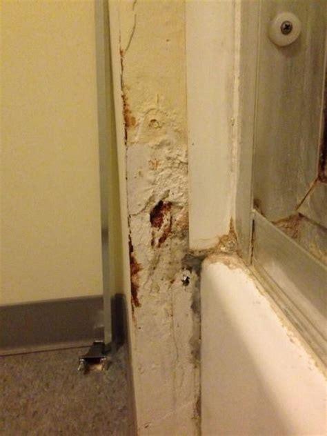 repairing bathroom tiles bathroom wall repair help rop to see photo doityourself 14175
