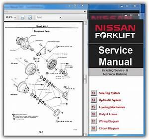 Nissan Forklift Service Manual  02 2010