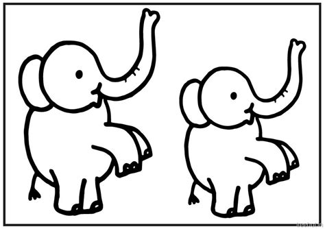cute baby elephant coloring pages