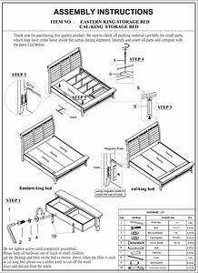 B401 Bedroom Assembly Instructions 2102 09 15 How To