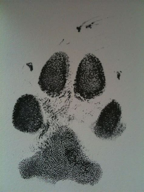 good paw print   memorial piece   vet clinic