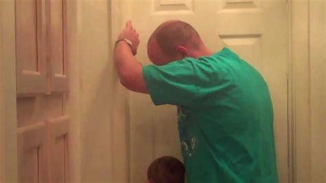 girl locked  bathroom youtube