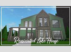 ROBLOX Welcome to Bloxburg Renovated Lake House YouTube