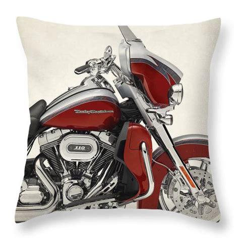 Harley Davidson Cvo Limited Backgrounds by Harley Davidson Cvo Limited 2014 Throw Pillow For Sale By