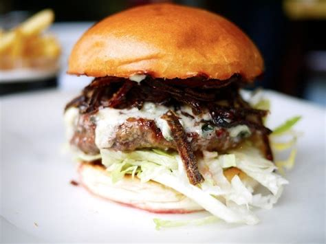 The Londoner » Big Blue Byron Burger