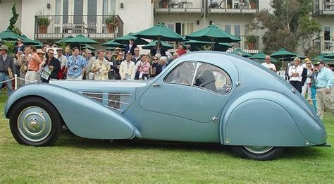 I myself once saw the atlantic belonging to ralph lauren on display in an actual art museum. 1936 Bugatti Type 57SC Atlantic Is The World's Most Expensive Car Gallery 360586   Top Speed