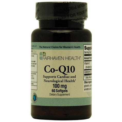 Coenzyme q10 ingredients
