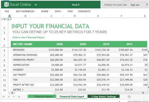 financial report template word 5 financial report templates excel pdf formats
