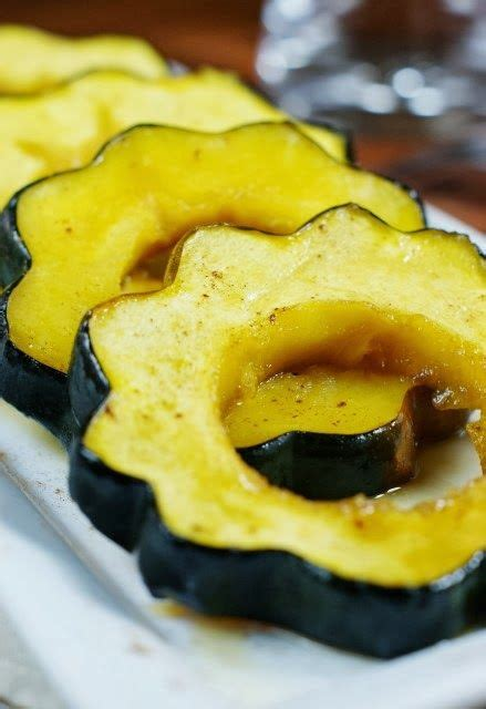Maple Acorn Squash Baked