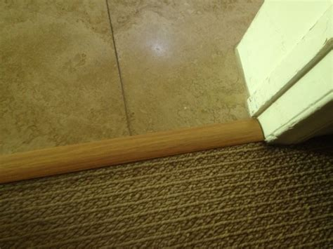 Carpet To Tile Transition Strips by Carpet Transition Temecula Handyman