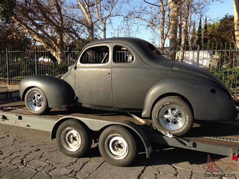 Rod Cars For Sale Ebay by 1940 Ford Coupe Project For Sale