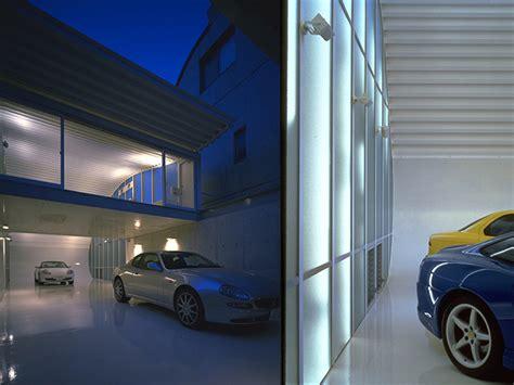 A Custom Car Garage  Architecture Style
