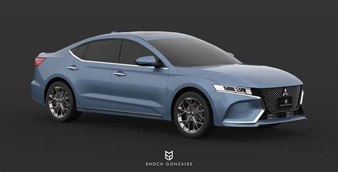 Drivers Mitsubishi by 2020 Mitsubishi Galant Visualize Rebirth Of Mid Size Sedan