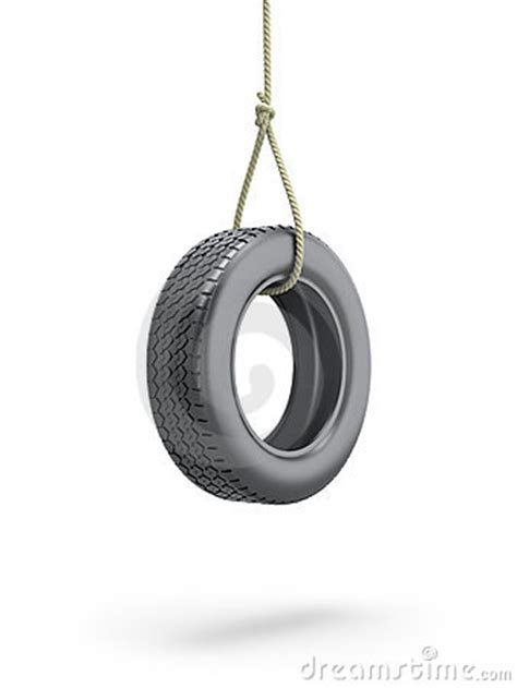 tire swing royalty  stock photo image